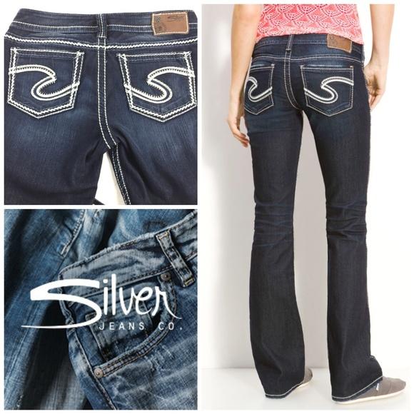 48e997de Silver Jeans